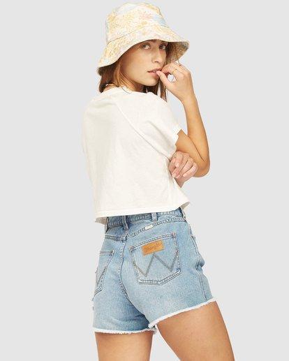 2 Wrangler Take It Back T-Shirt White 6513016 Billabong