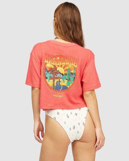 4 Wrangler Made It T-Shirt Red 6513018 Billabong