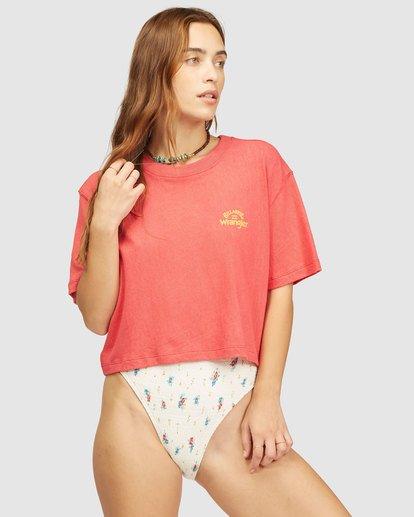 2 Wrangler Made It T-Shirt Red 6513018 Billabong
