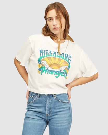 0 Wrangler Made It T-Shirt White 6513018 Billabong