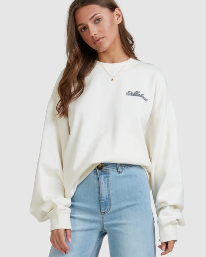 4 Chase The Sky Crew White 6513210 Billabong