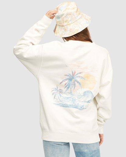 3 Wrangler Wayward Crew Neck Sweatshirt White 6513213 Billabong