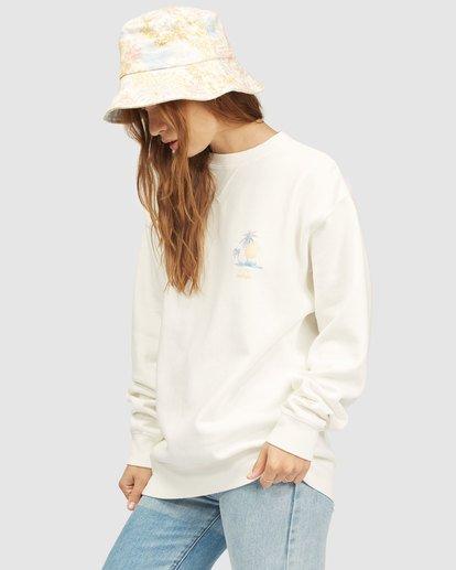 2 Wrangler Wayward Crew Neck Sweatshirt White 6513213 Billabong