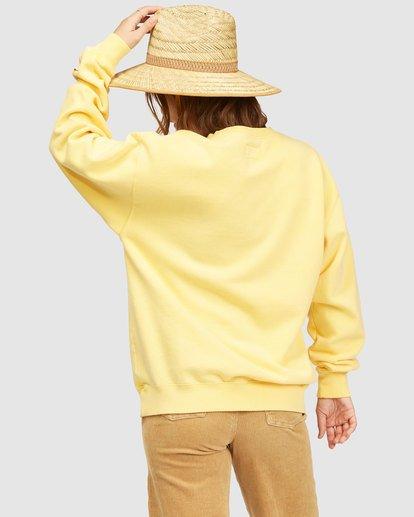 4 Wrangler Wayward Crew Neck Sweatshirt Yellow 6513213 Billabong
