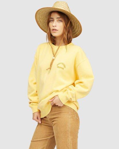 2 Wrangler Wayward Crew Neck Sweatshirt Yellow 6513213 Billabong
