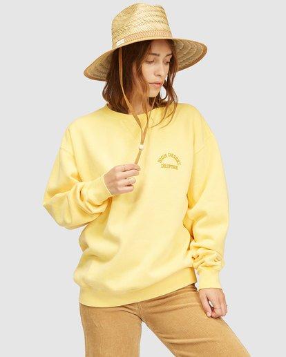 3 Wrangler Wayward Crew Neck Sweatshirt Yellow 6513213 Billabong
