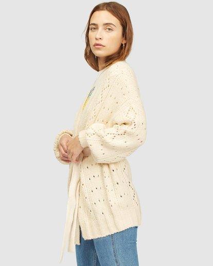 1 Wrangler Wrangled Up Sweater White 6513296 Billabong
