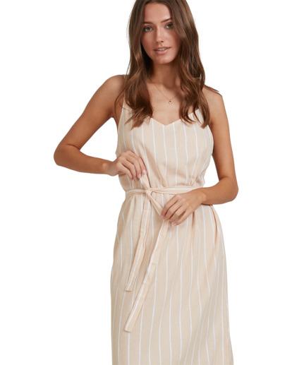 4 Dark Sands Midi Dress Beige 6513461 Billabong