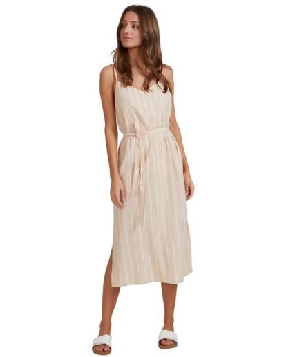 0 Dark Sands Midi Dress Beige 6513461 Billabong