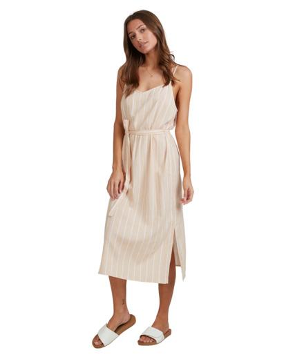 2 Dark Sands Midi Dress Beige 6513461 Billabong
