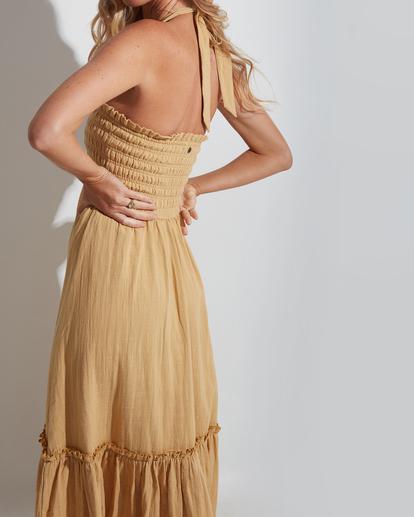 2 Charlotte Dress Yellow 6513463 Billabong