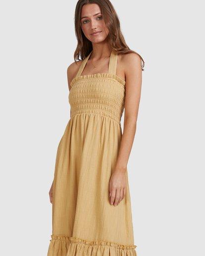 7 Charlotte Dress Yellow 6513463 Billabong