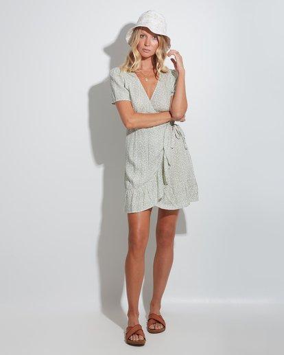 0 Sea Bloom Dress Green 6513464 Billabong