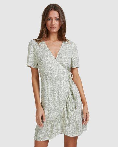2 Sea Bloom Dress Green 6513464 Billabong