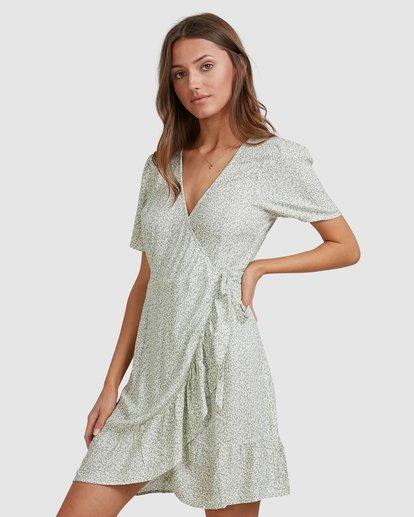 3 Sea Bloom Dress Green 6513464 Billabong