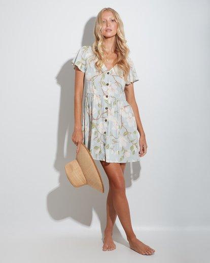 1 Moonflower Midi Dress Green 6513466 Billabong