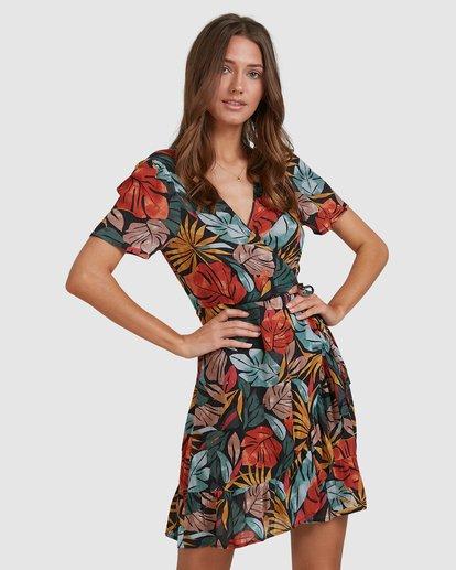 3 Sundaze Wrap Dress Black 6513469 Billabong