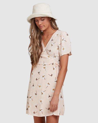 1 Feelin Peachy Dress Pink 6513471 Billabong