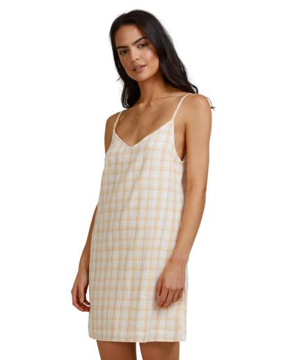 2 La Sol Summer Dress Yellow 6513473 Billabong