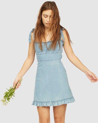 1 Wrangler Lovely Day Dress Blue 6513481 Billabong