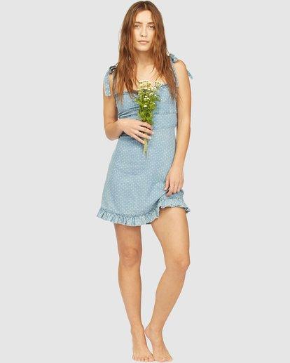 4 Wrangler Lovely Day Dress Blue 6513481 Billabong