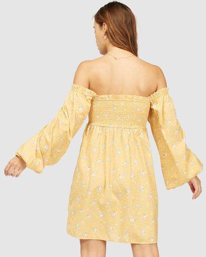 4 Wrangler Bellflower Dress Yellow 6513483 Billabong