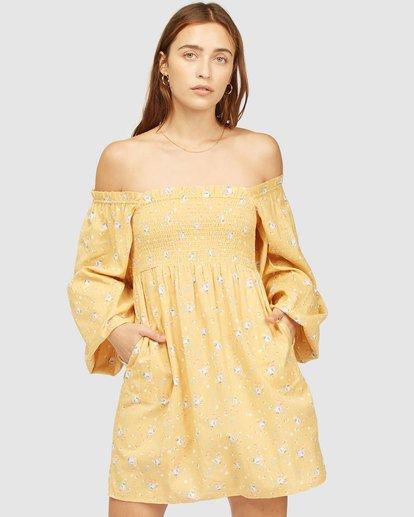 2 Wrangler Bellflower Dress Yellow 6513483 Billabong