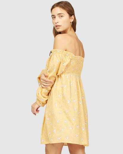 3 Wrangler Bellflower Dress Yellow 6513483 Billabong