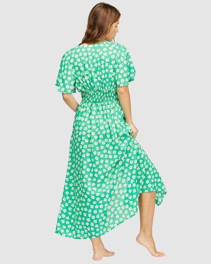 3 Wrangler Floral Dream Dress Green 6513487 Billabong