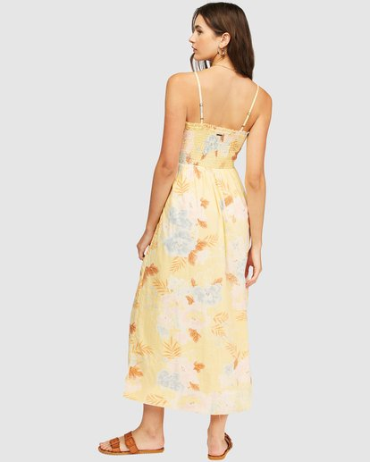 2 Baja Breeze Dress Yellow 6513494 Billabong