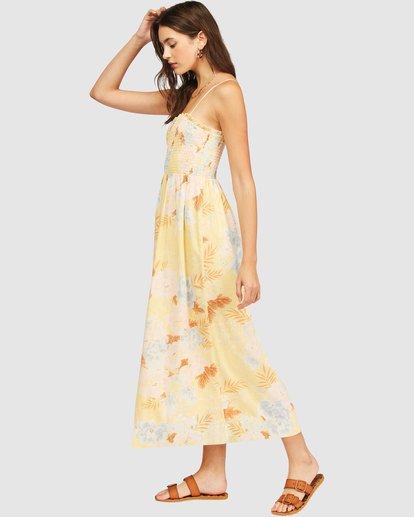 1 Baja Breeze Dress Yellow 6513494 Billabong