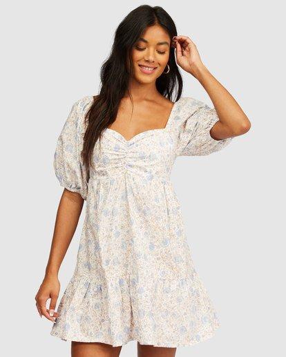 0 Be Mine Babydoll Dress White 6513497 Billabong