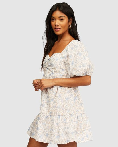 1 Be Mine Babydoll Dress White 6513497 Billabong