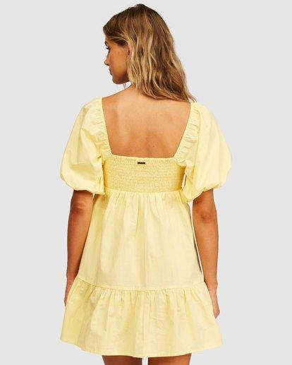 2 Be Mine Babydoll Dress Yellow 6513497 Billabong