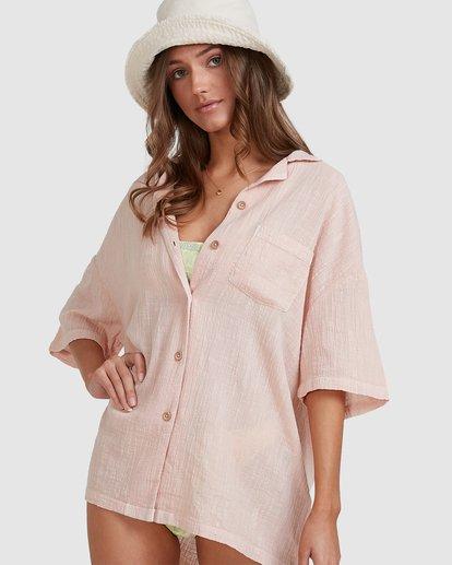 7 Beach Bound Shirt Pink 6513624 Billabong