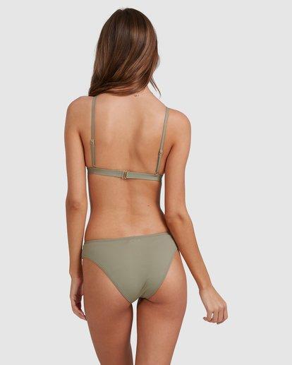 4 Sol Searcher Hi Point Tri Bikini Top Grey 6513701 Billabong