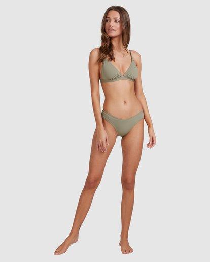 6 Sol Searcher Hi Point Tri Bikini Top Grey 6513701 Billabong