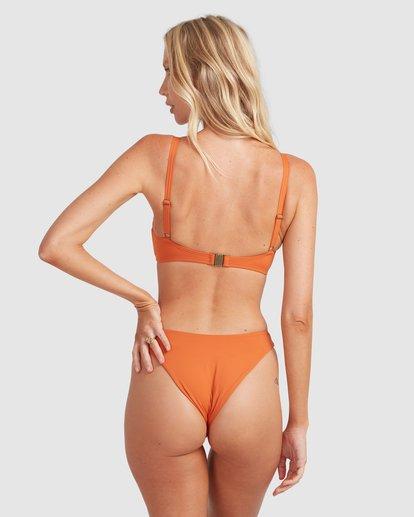 4 Sol Searcher Mia D/DD Bralette Bikini Top Brown 6513703 Billabong