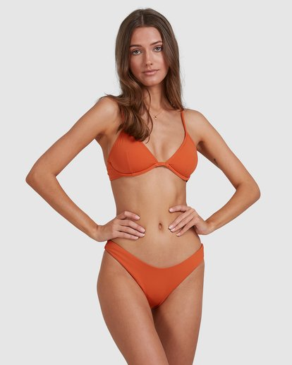 2 Sol Searcher Reese Underwire Bikini Top Brown 6513705 Billabong