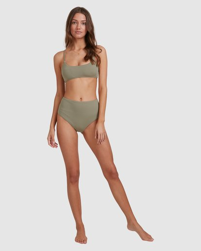 6 Sol Searcher Bralette Bikini Top Grey 6513706 Billabong