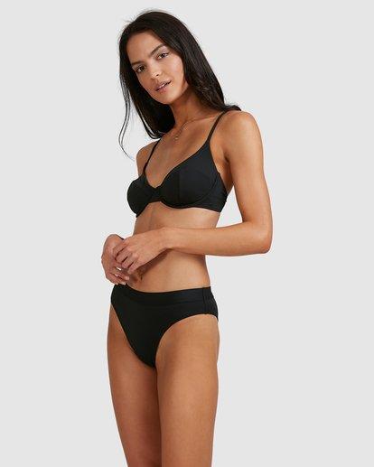 2 Sol Searcher Maui Rider Bikini Bottoms Black 6513713 Billabong