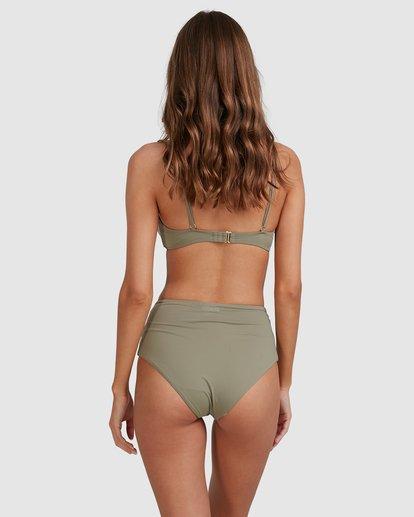 3 Sol Searcher Hi Retro Bikini Bottoms Grey 6513714 Billabong