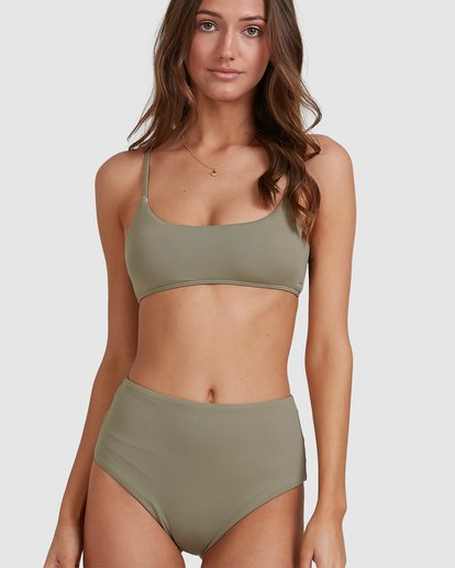 4 Sol Searcher Hi Retro Bikini Bottoms Grey 6513714 Billabong