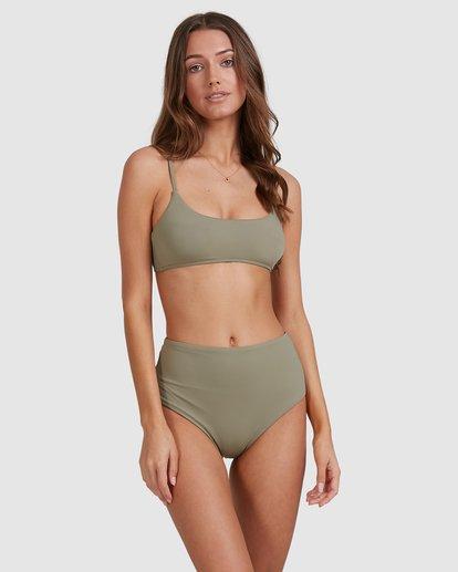 1 Sol Searcher Hi Retro Bikini Bottoms Grey 6513714 Billabong