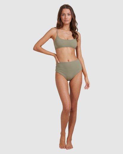 5 Sol Searcher Hi Retro Bikini Bottoms Grey 6513714 Billabong