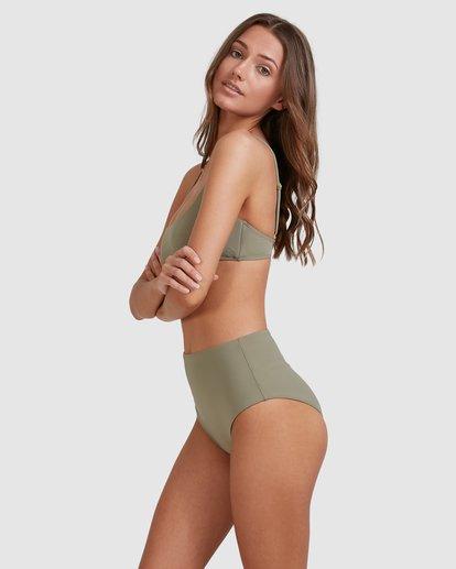 2 Sol Searcher Hi Retro Bikini Bottoms Grey 6513714 Billabong