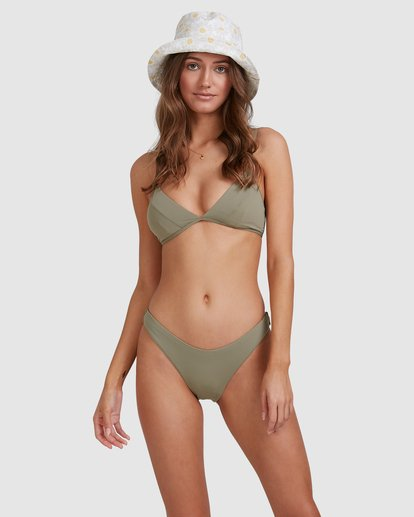 2 Sol Searcher Charlie Trilette Bikini Top Grey 6513717 Billabong