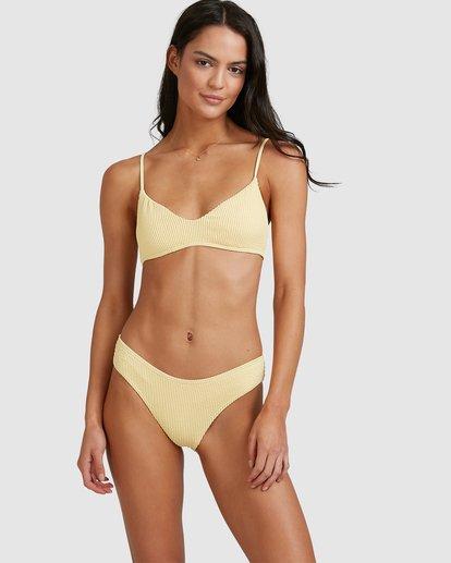 0 Summer High V Bralette Bikini Top Yellow 6513718 Billabong