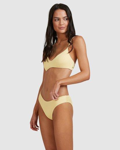 3 Summer High V Bralette Bikini Top Yellow 6513718 Billabong