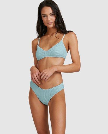 0 Summer High V Bralette Bikini Top Blue 6513718 Billabong